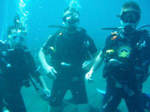Bali potápanie