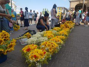 v uliciach Kyjeva