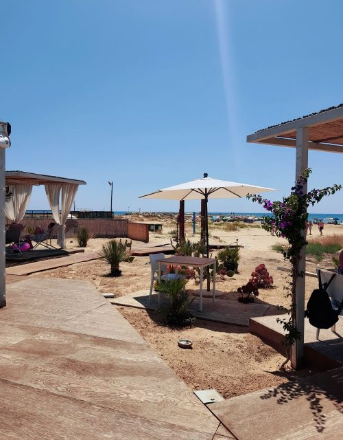 Jammola ristorante na pláži