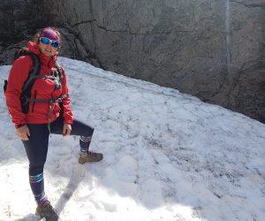 na snehu cesta na kjerag